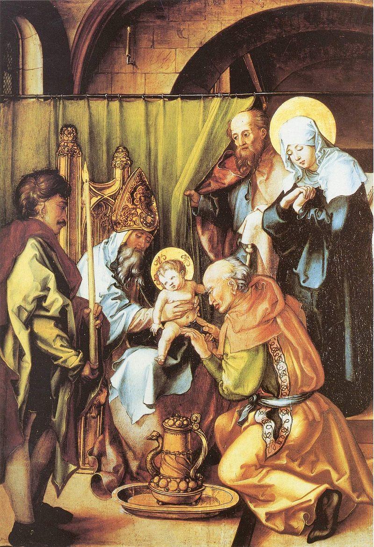 『イエスの割礼』 アルブレヒト・デューラー