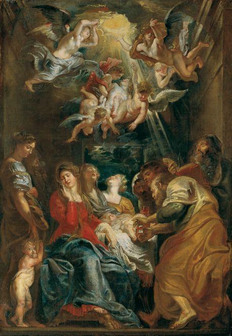 『キリストの割礼』 ピーテル・パウル・ルーベンス
