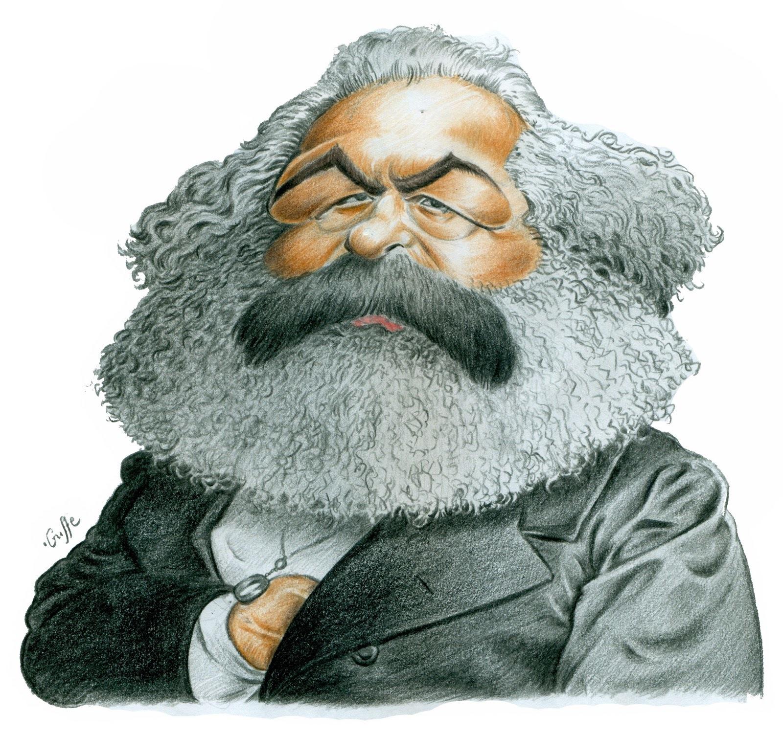 Karl Marx Contours