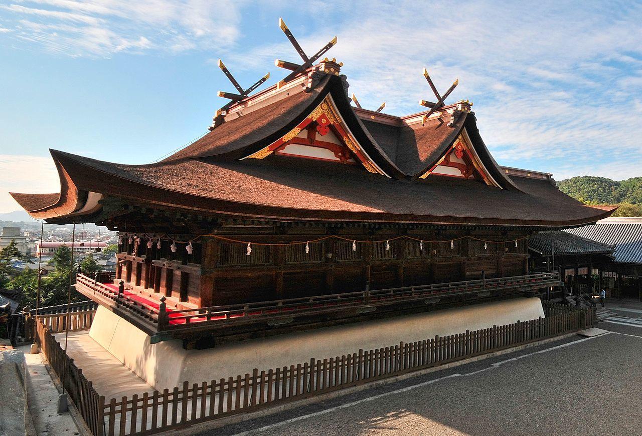 吉備津神社 本殿(国宝)