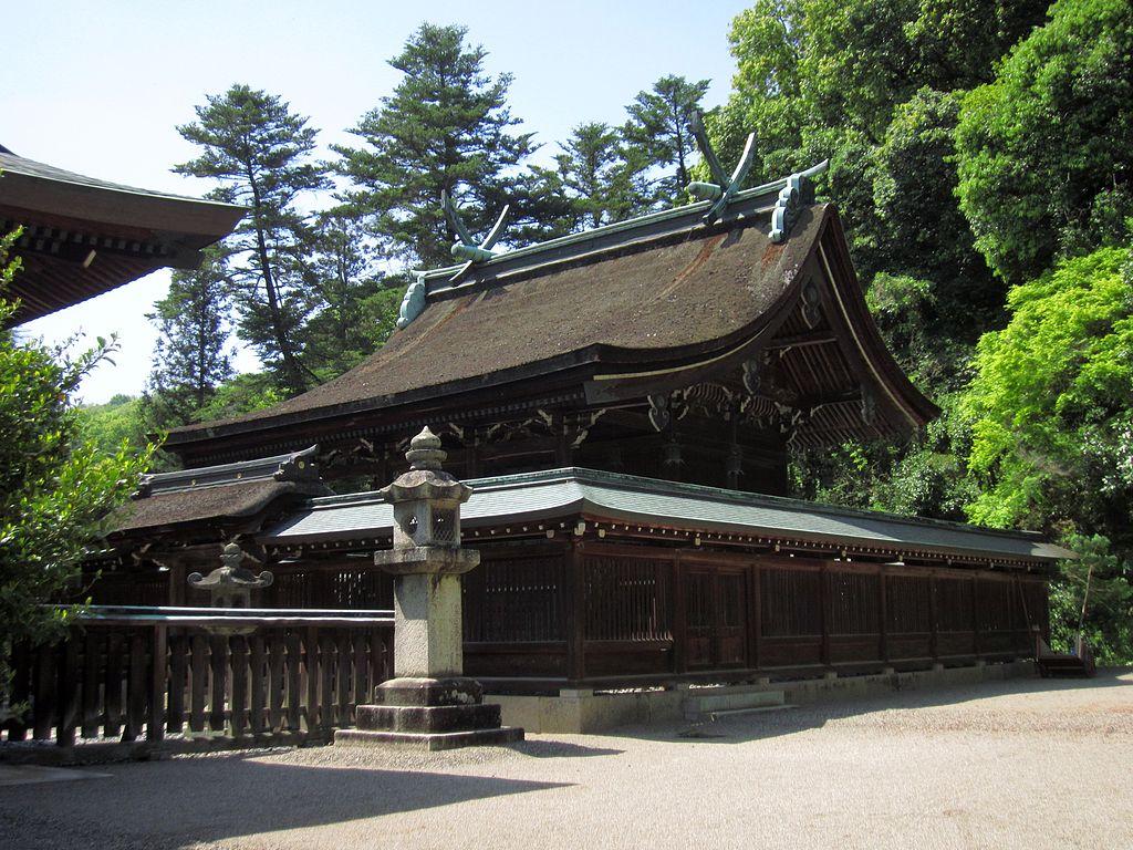 吉備津彦神社 本殿(岡山県指定文化財)