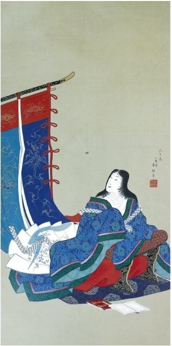 『衣通姫図』 歌川芳輝