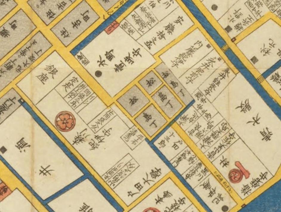 神田浜町日本橋北之図 3