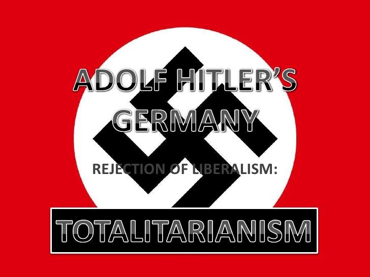 全体主義 ナチス