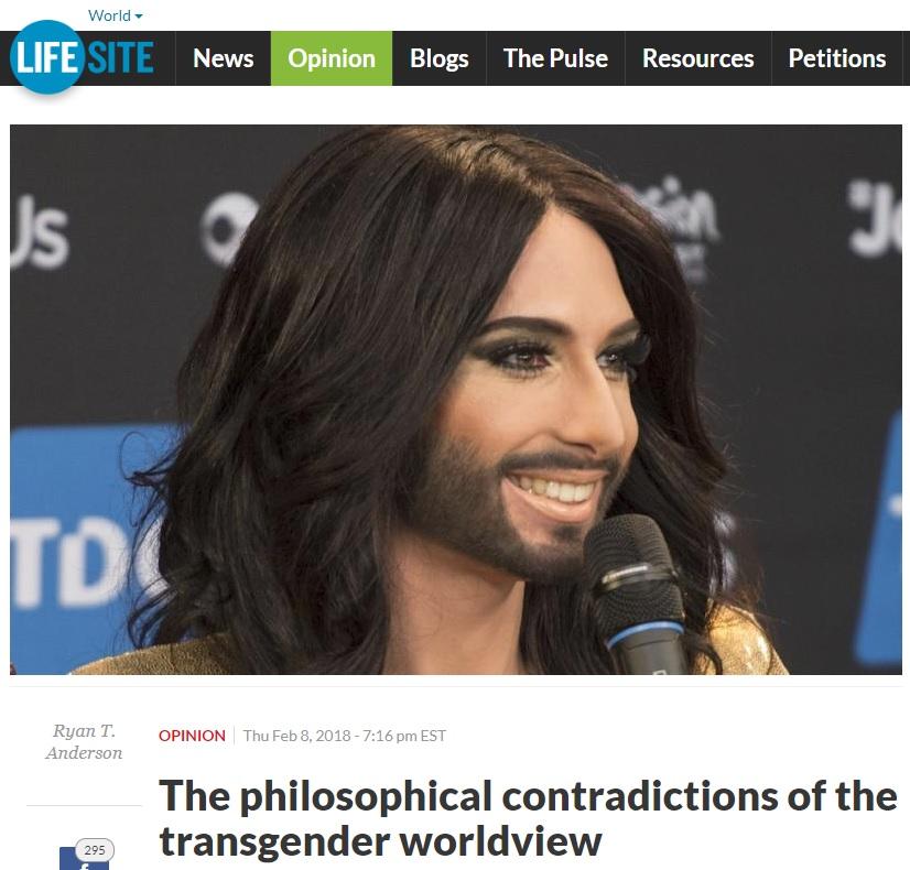 トランスジェンダーの世界観