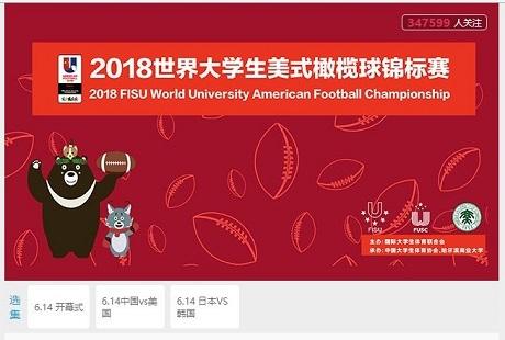 20180614第3回アメリカンフットボール大学世界選手権配信サイト