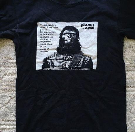 20180623Tシャツのみ猿の惑星