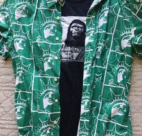 20180623コラボシャツ猿の惑星