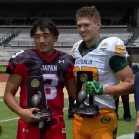 20180723表彰式U19日本対オーストラリア
