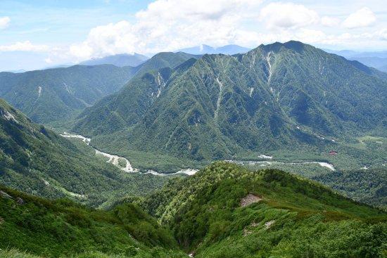 13上高地霞沢岳