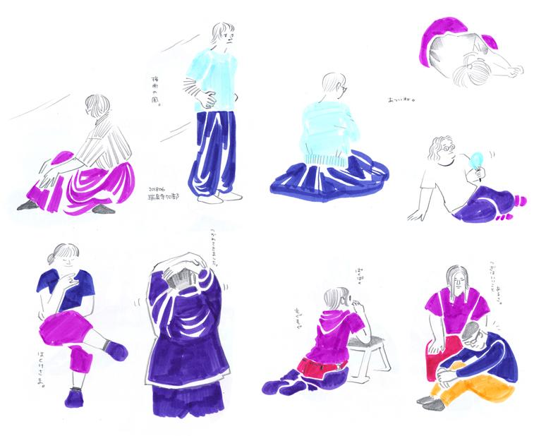 瑞泉寺クロッキー部 まちょ(おやまゆかこ)