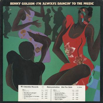 JZ_BENNY GOLSON_IM ALWAYS DANCIN TO THE MUSIC_20180725