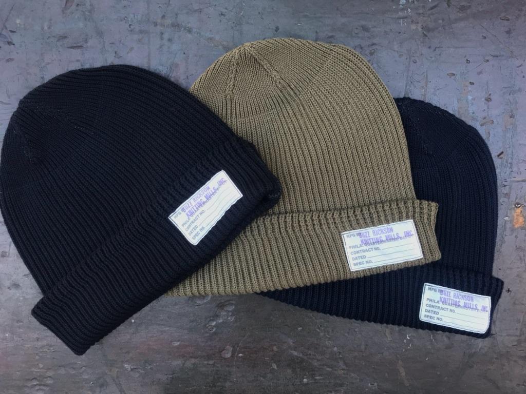 船乗りの帽子。BUZZ RICKSON'S / WATCH CAP【横田店】