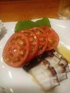 タコとトマト
