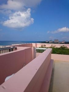 ホテルから海2