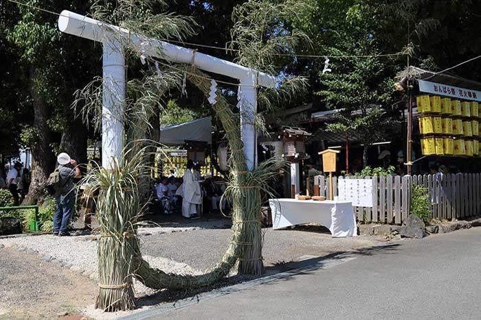 綱越神社 おんぱら祭2