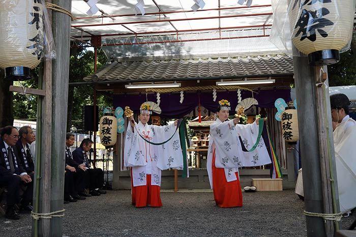 綱越神社 おんぱら祭3