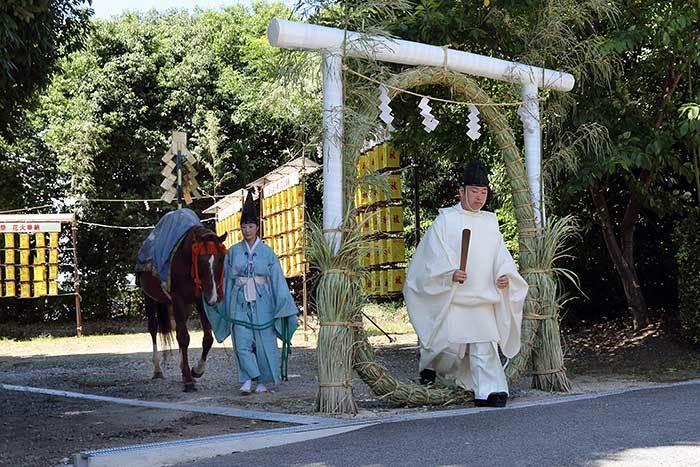 綱越神社 おんぱら祭4