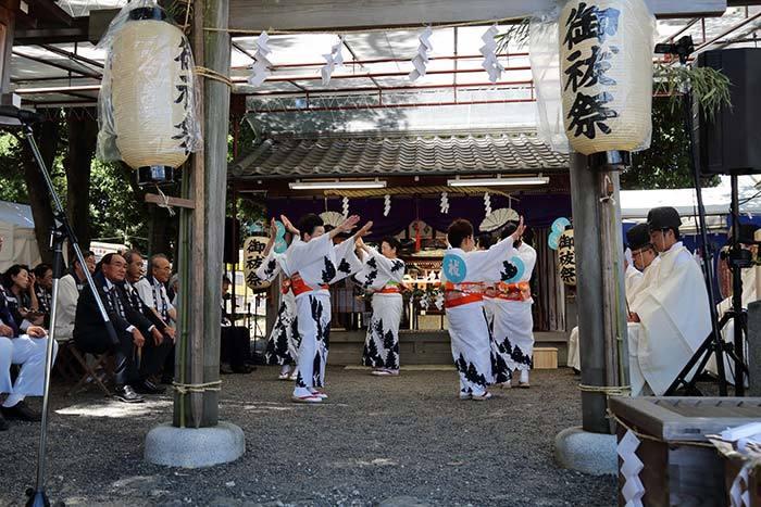綱越神社 おんぱら祭6