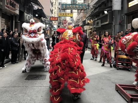 南国クルーズ201香港獅子舞