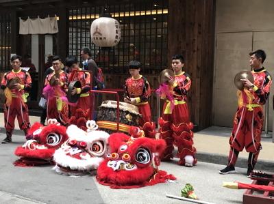 南国クルーズ202香港獅子舞