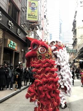 南国クルーズ205香港獅子舞