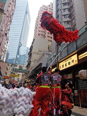 南国クルーズ206香港獅子舞