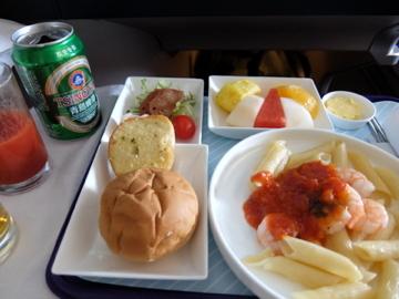 南国クルーズ219中国東方航空機内食