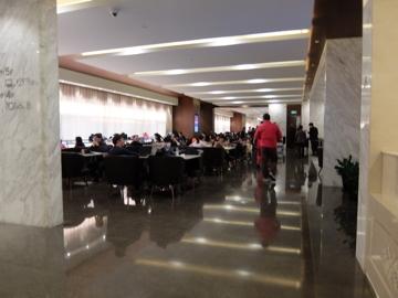 南国クルーズ221上海ラウンジ