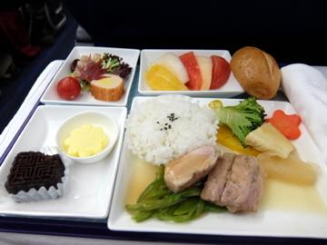 南国クルーズ224中国東方航空機内食