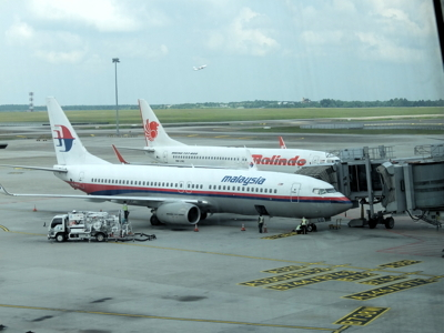 ブルネイクアラ008マレーシア航空