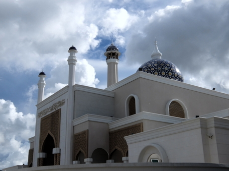 KLブルネイ009空港モスク