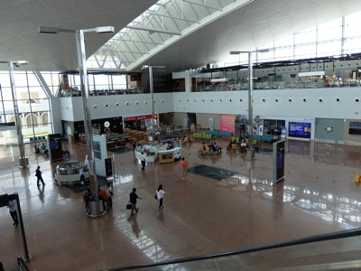 KLブルネイラ011ブルネイ空港