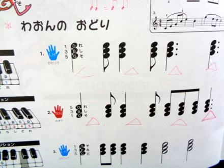 和音の練習