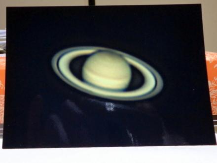 土星も見えてるよ