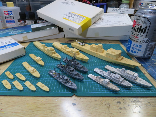 機雷艦艇 1/700