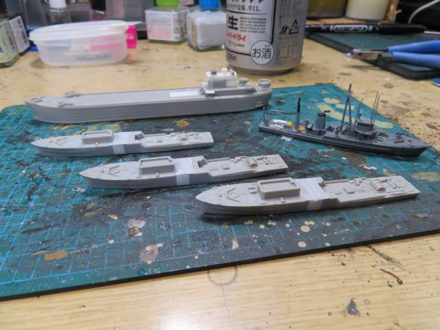 掃海母艦 はやとも 開始・・・