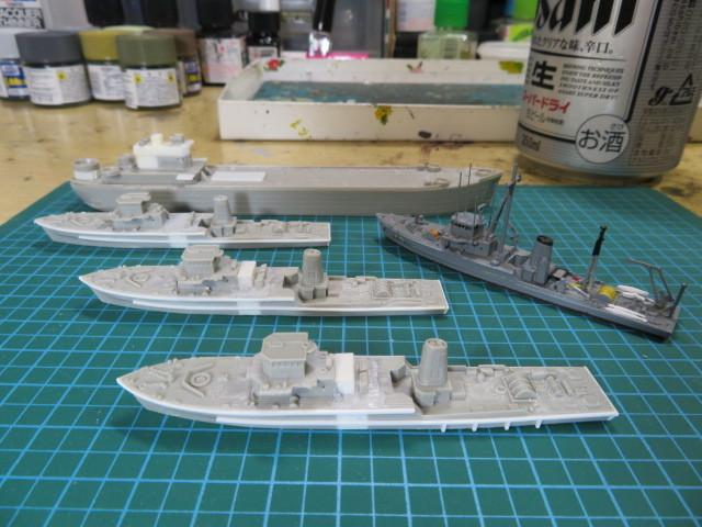 機雷艦艇 1/700 の2