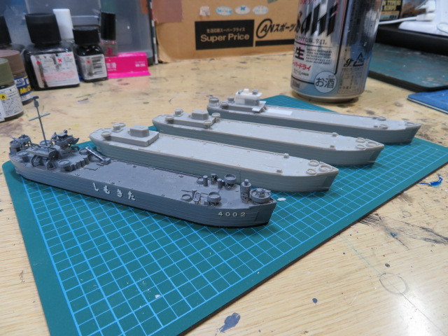 揚陸艦 おおすみ型 LST4001 開始・・・
