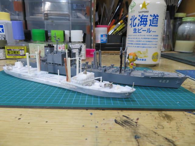 給油艦 はまな AO-411 の4