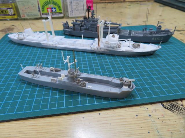 揚陸艇(輸送艇)大型 LMS3001 の1
