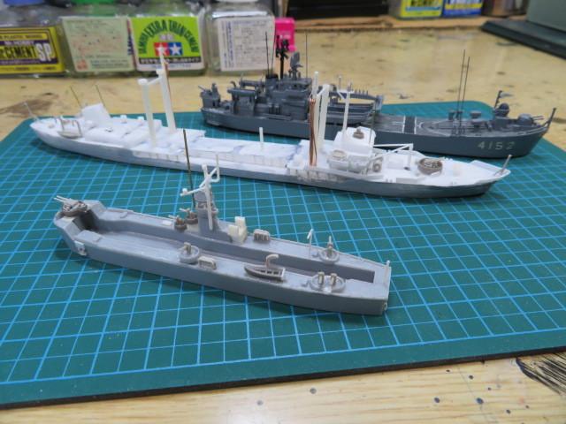 揚陸艇(輸送艇)大型 LMS3001 の2