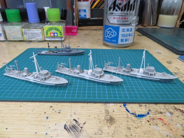 機雷艦艇 1/700 の3