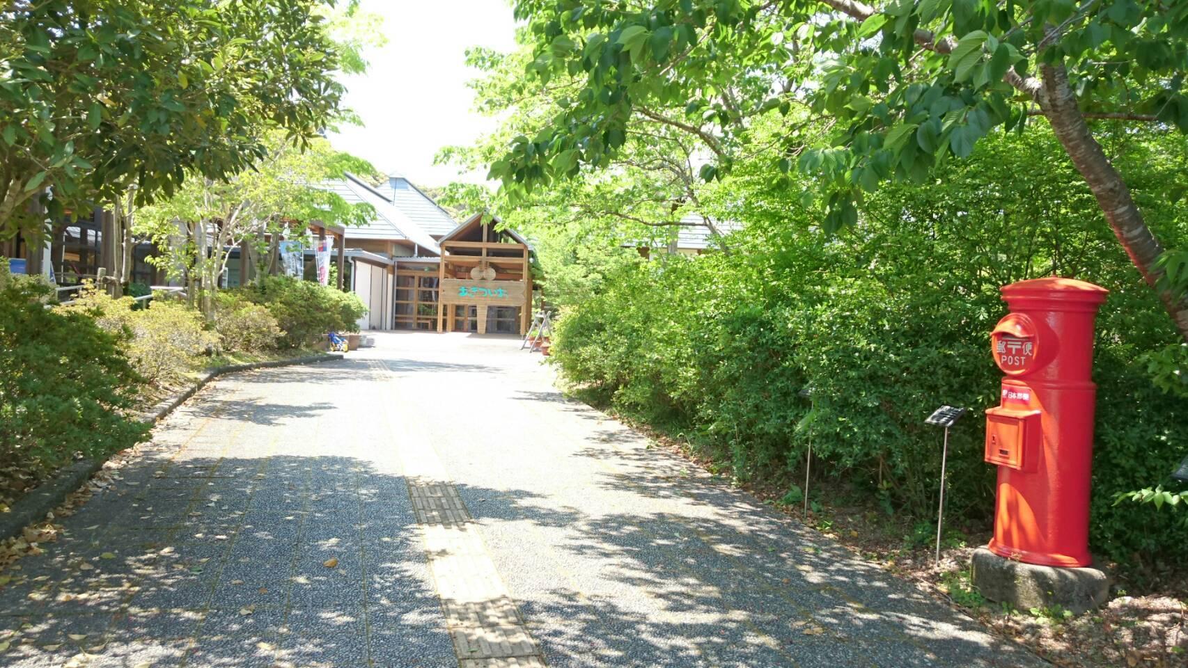 トンボ自然公園の外観