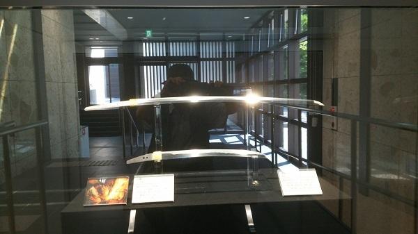 本館の常設の日本刀