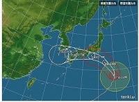 台風12号22:45