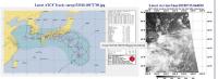 台風12号米軍画像