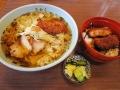 サバだしラーメン+半ソースカツ丼_きかく