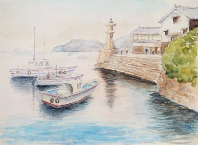 鞆の浦 汐待港