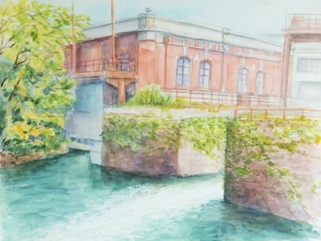 夷川発電所